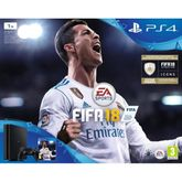 Sony Playstation 4 Slim 1TB + FIFA 18 + Playstation Plus 14 days, 9913160