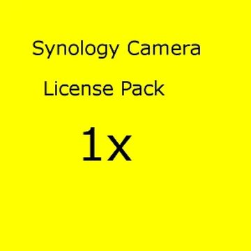 Synology Camera License Pack x 1 IPC
