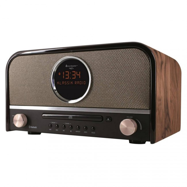 soundmaster nr850 radio usb fm dab retro design. Black Bedroom Furniture Sets. Home Design Ideas